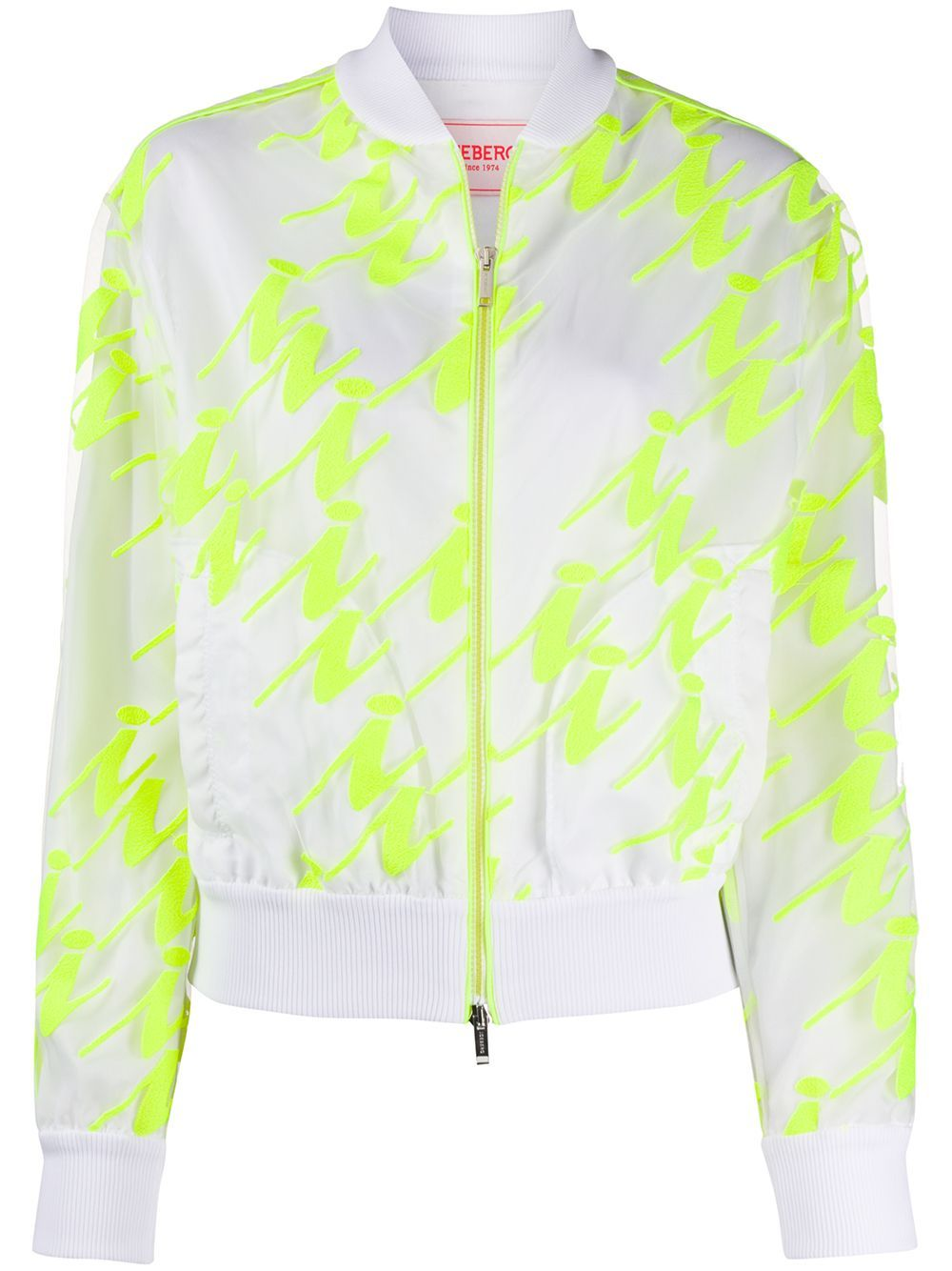Iceberg Neon Panel Bomber Jacket Farfetch Jackets Bomber Jacket Couture Outfits [ 1334 x 1000 Pixel ]