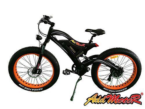 Addmotor MOTAN Electric Bicycles 500W 48V For Snow Beach All