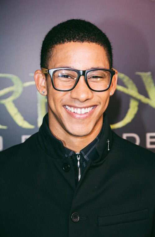 Keiynan Lonsdale at the Arrow 100th Episode party #Arrow100