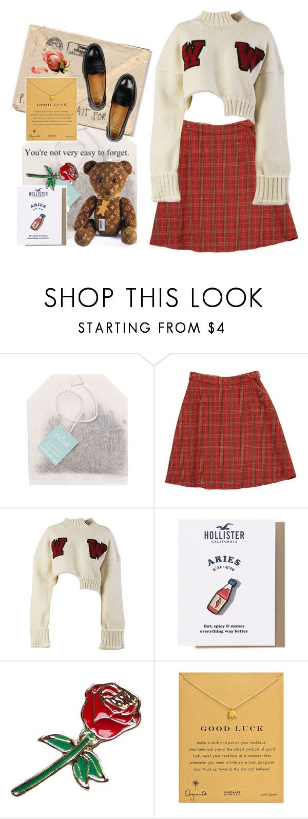 """""""rydell"""" by bbygia ❤ liked on Polyvore featuring Paper Source, Paul Smith, Off-White, Hollister Co., Dogeared and Church's"""