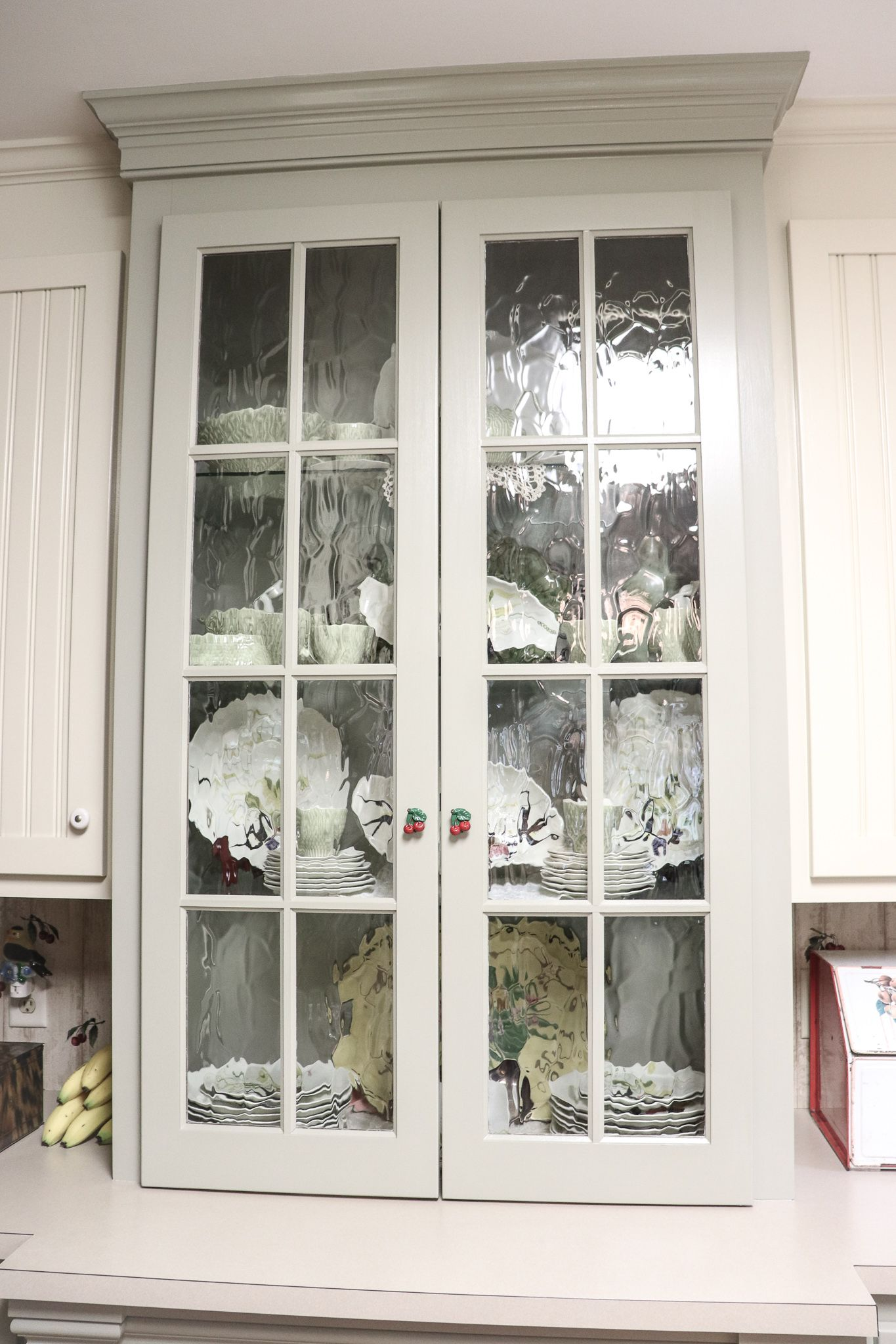 We Love The Detail In This China Cabinet. The Glass, The 2