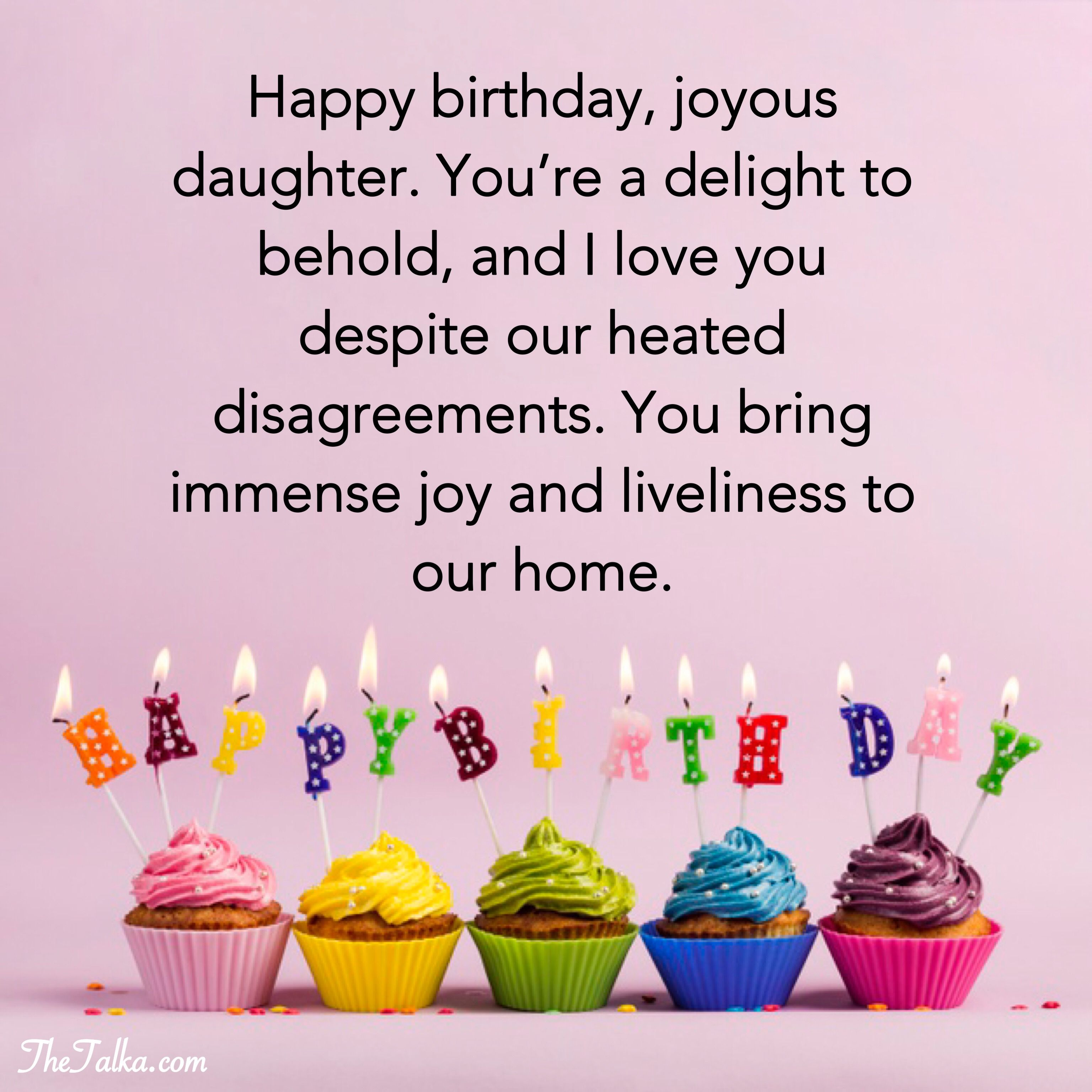 Birthday Wishes For Daughter — Heartwarming, Prayers