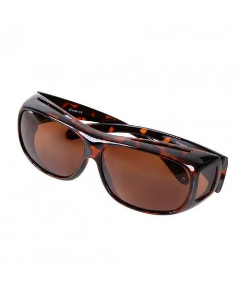 bfba021bb6e Fit Over Glasses Sunglasses with Polarized Lenses for Men and Women ...