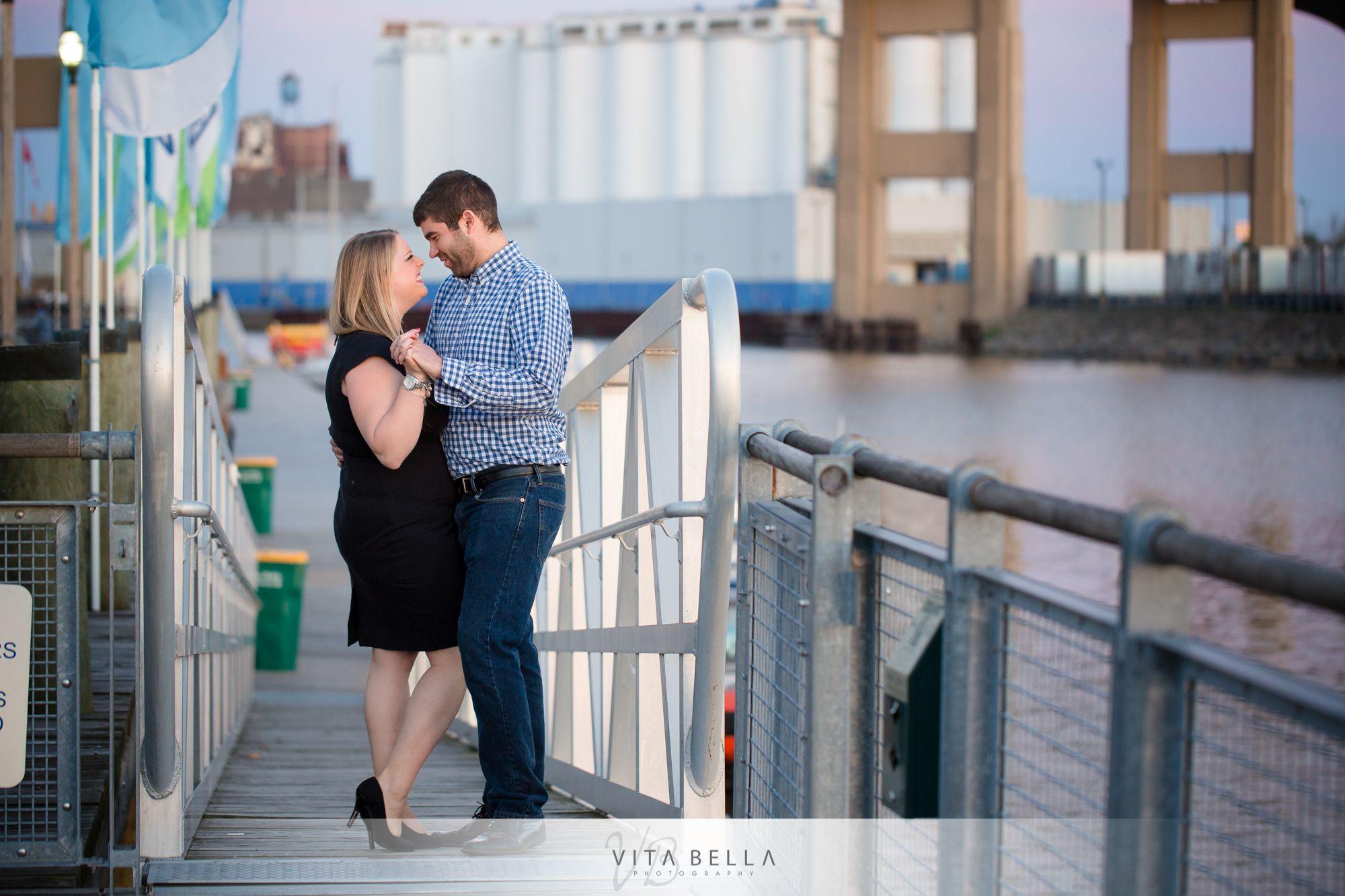 Waterfront Pier Canalside Buffalo Wedding Photography Buffalo Wedding Wedding Classic Bella Wedding