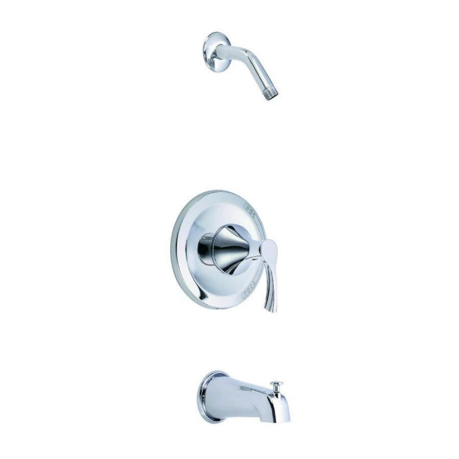 Danze Antioch Chrome 1 Handle Bathtub And Shower Faucet D510022lst In 2020 Shower Faucet Faucet Shower Tub