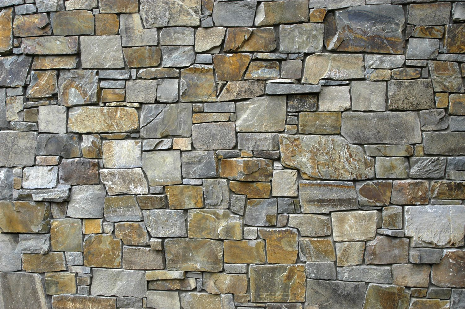 Simple Natural Stone Tile Dry Stack That Seems