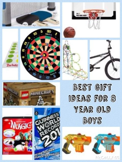 Best Gift Ideas For 8 Year Old Boys Christmas And Birthday Present Ideas Christmas Gifts For Boys Best Gifts For Boys Birthday Gifts For Boys