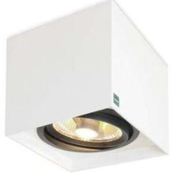 Mawa Design 111 Strahler quadratisch grau metallic (db 702) Standardversion Gu10 Hochspannung 3 Strahler Ma   – Products