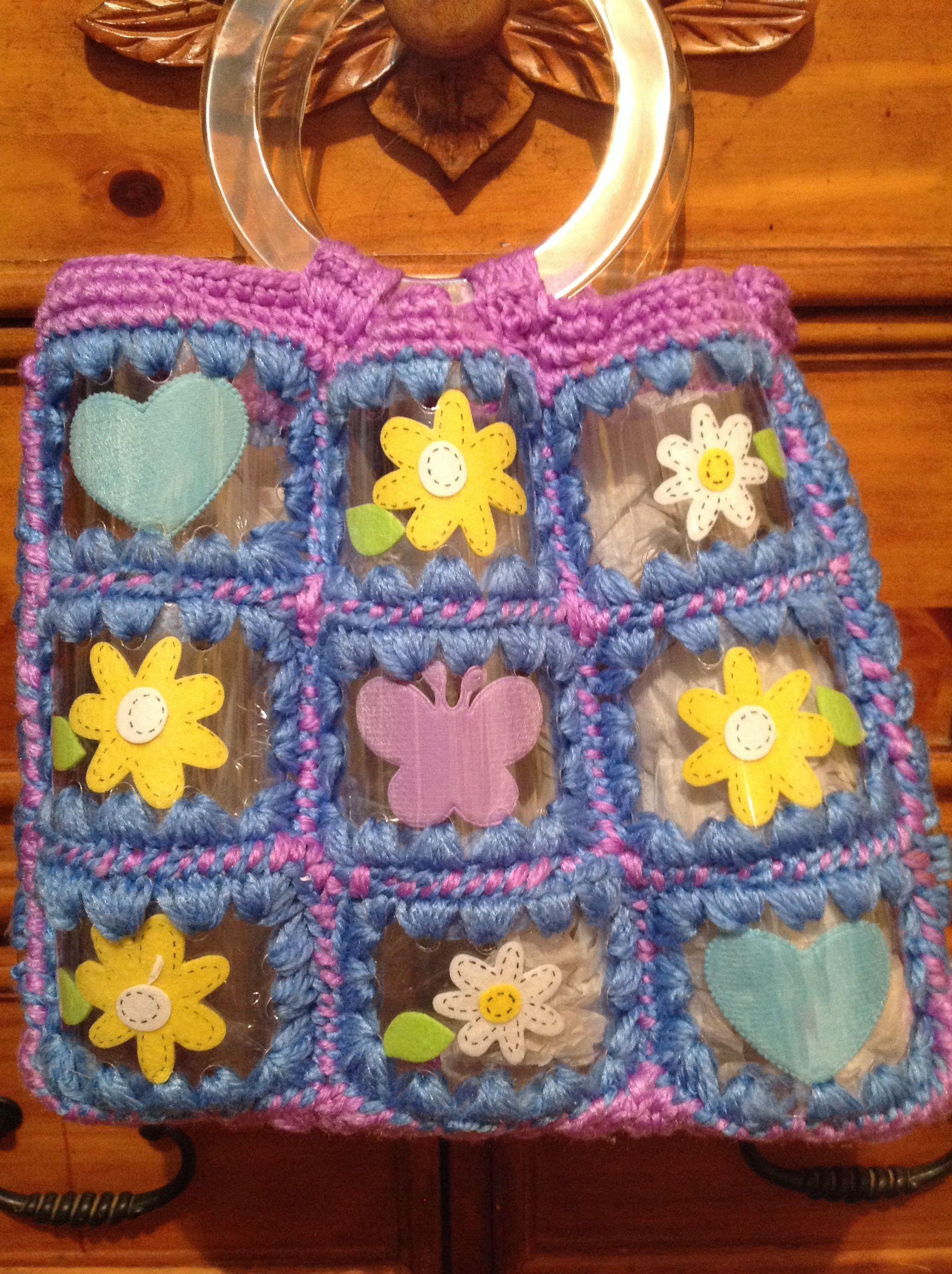 Cartera hecha de botellones plásticos! | bolsos , carteras ...
