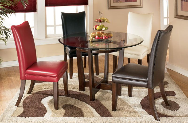 Charrell Glass Top Dining Table Freed S Furniture 176 Dining