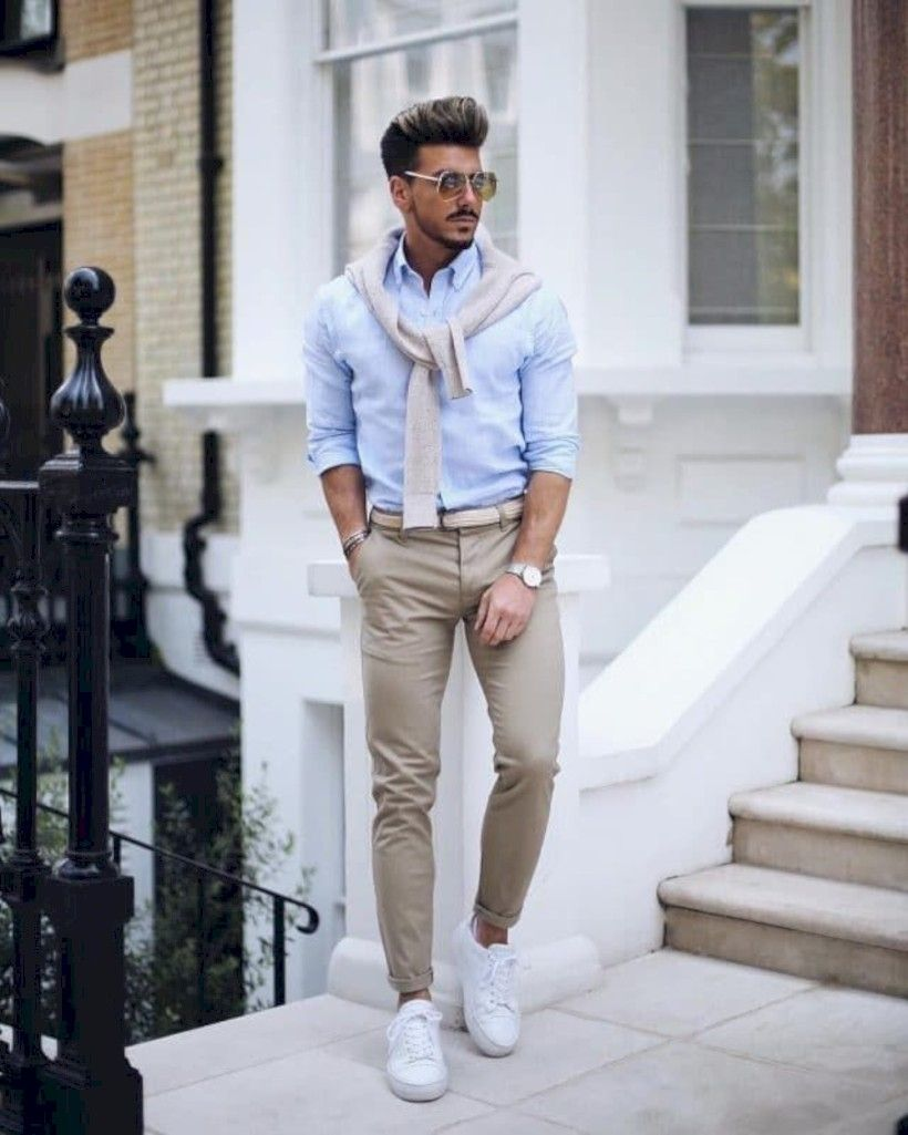 5bfb8c72d8ba Breathtaking 35 Awesome Casual Office Outfits Ideas for Men 2019  http   fashioneal.