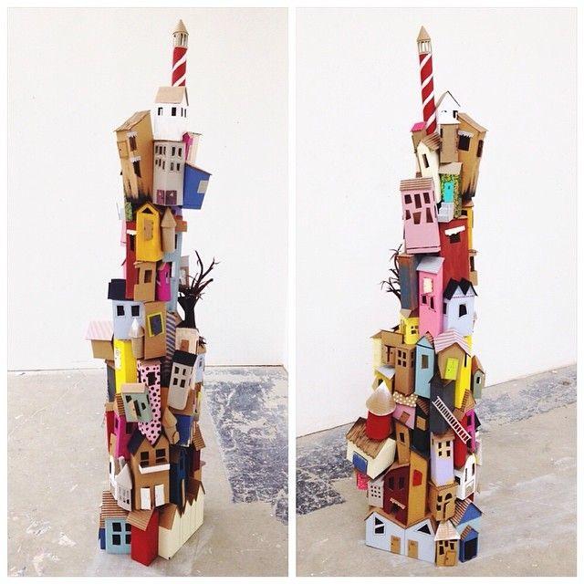 Cardboard Village |  by Helen Grady