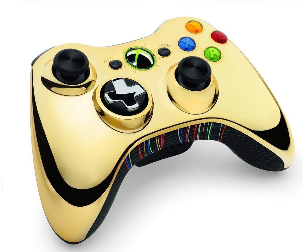 Brand New Xbox 360 Wireless Controller - Gold C-3PO Edition