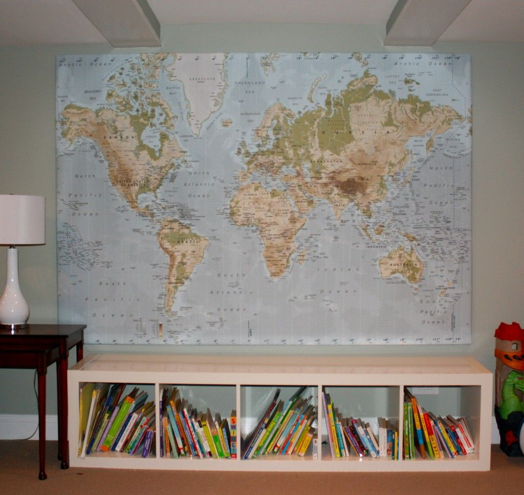 ikea expedit system used as bench canvas map also from ikea kids pinterest ikea expedit. Black Bedroom Furniture Sets. Home Design Ideas