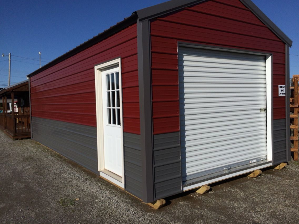 Portable garage. Perfect space! | Portable garage, Built ...