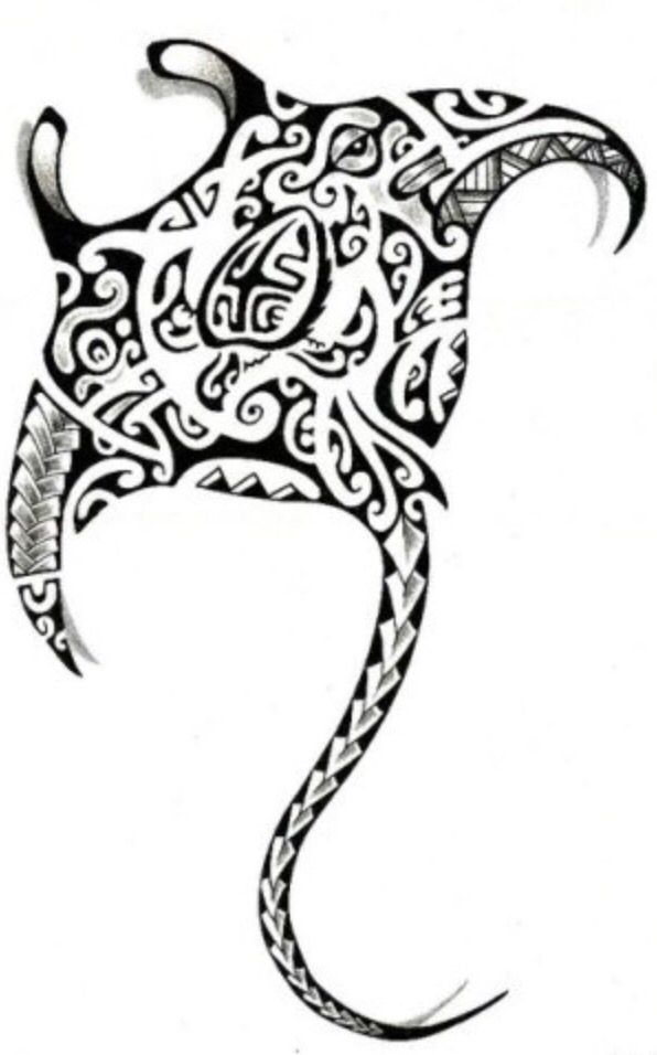 88d972807 Maori Tattoo | TATTOOS | Manta ray tattoos, Tattoos, Hawaiian tattoo