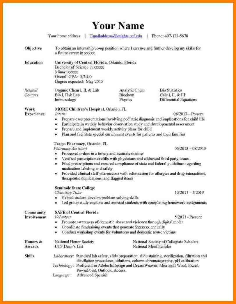3 Types Of Resume Formats In 2020 Resume Format Job Resume Examples