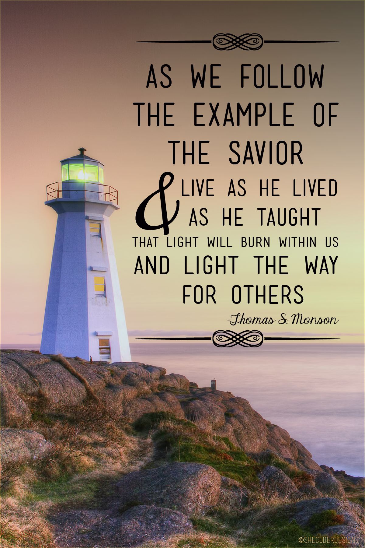 Let Your Light So Shine Lds Generalconference Prophet Mormon
