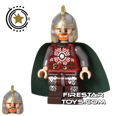 Lego Minifigure Armor The Hobbit and the Lord of the Rings King Theoden