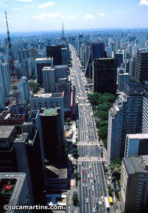 Sao Paulo Brasil 19 Milhoes Cidades Mais Bonitas