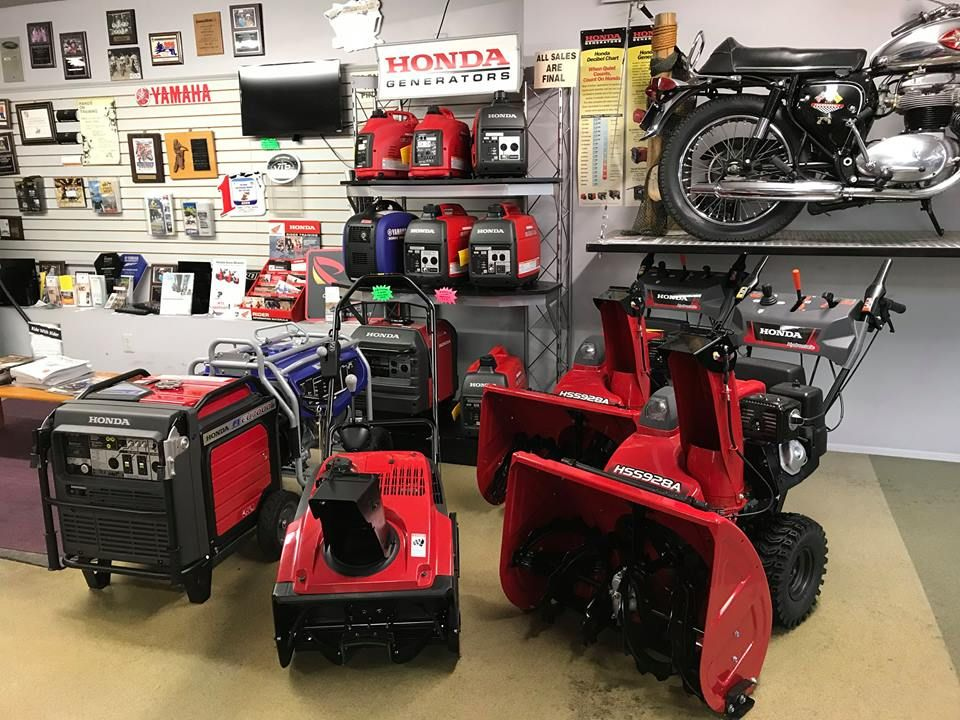 We know you don't want to hear it, but winter is coming. Be prepared for the winter weather with our full line of Honda and Yamaha Generators, and Honda Snowblowers. When you buy your power equipment from Pete's it will be fully serviced and ready to use when you need it most! Try finding that service at a big box store. #HondaPowerEquipment #YamahaPowerEquipment #WinterIsComing #PetesBaltimore #NoOneWantsToShovel #GotPower