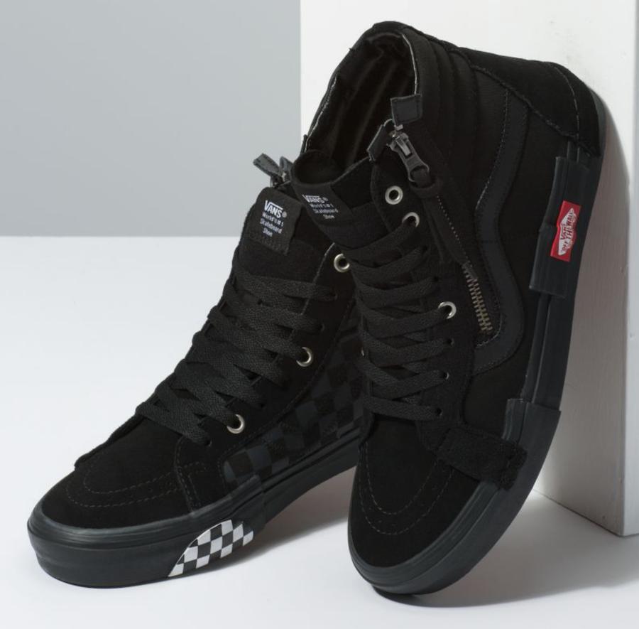 Vans Sk8 Hi Reissue Decon Cap Black Sneaker Bar Detroit Vans Boots Sneakers Men Fashion Vans Shoes Fashion