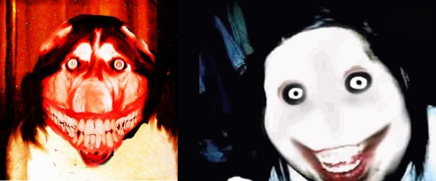 smile dog vs jeff the killer terrina pinterest