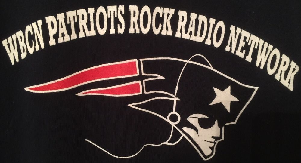 WBCN Patriots Rock Radio Network 104.1 FM The Rock of
