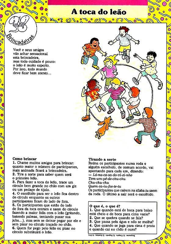 Tia Ariel Brincadeiras Infantis Brincadeiras Educacao Infantil