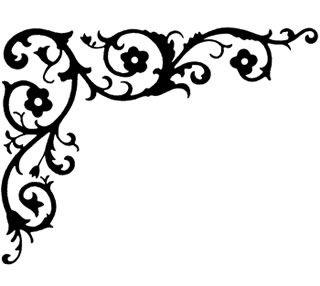 dover - decorative corners book - free sample