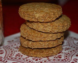 Scampoli -  Biscotti di avena e farro integrale (senza uova, senza latte, senza lievito)