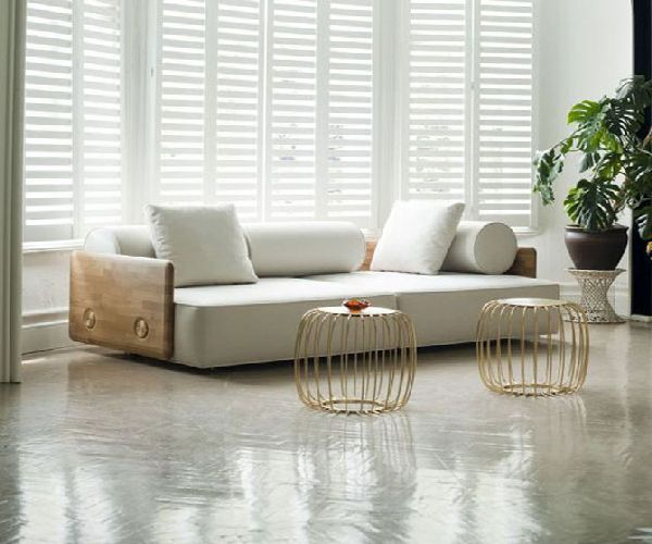 Living room with modern style sofas (Modern Style Sofas)