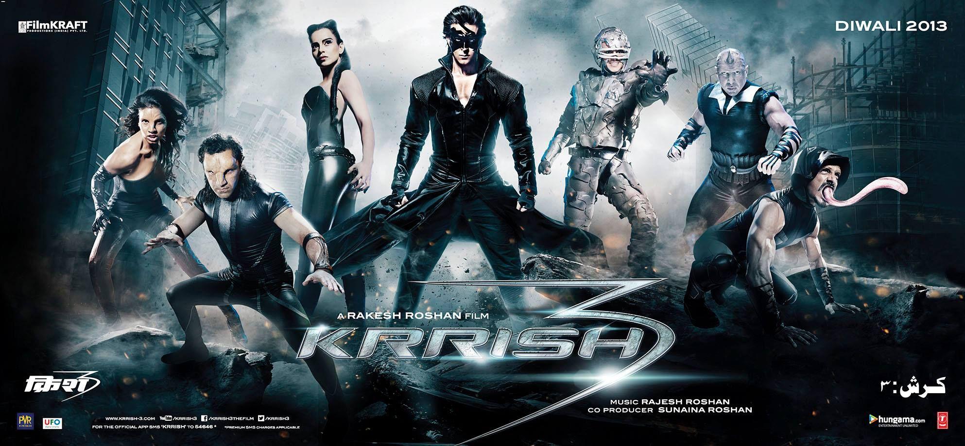 Krrish Hindi Movie Google Search Krrish 3 Bollywood Posters 3 Movie