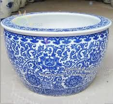 Image Result For Blue And White Porcelain Planters