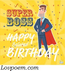Happy Birthday Wishes For Boss With Images Happy Birthday