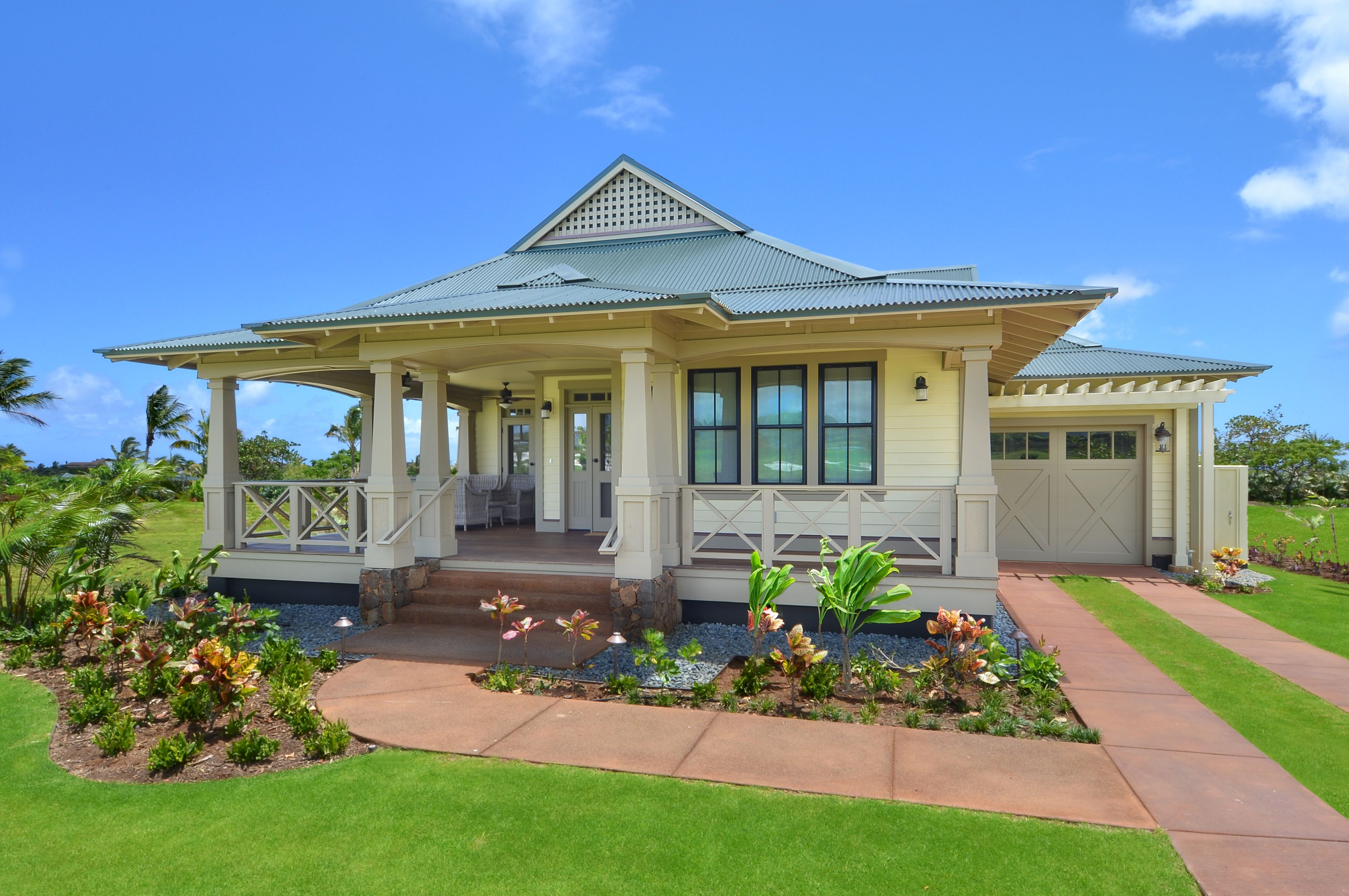 Hawaiian style home designs