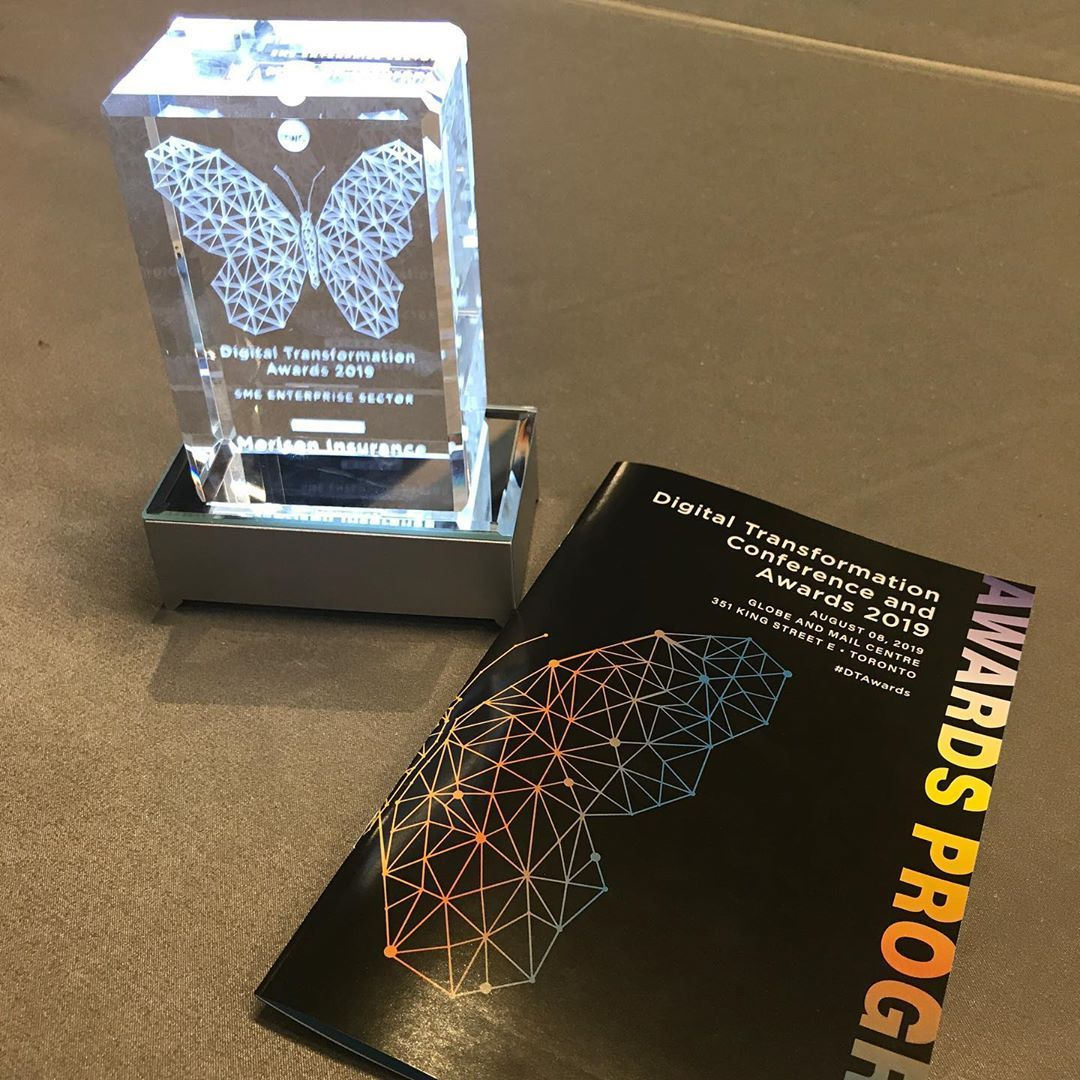 Great news! So pleased to win the digital transformation