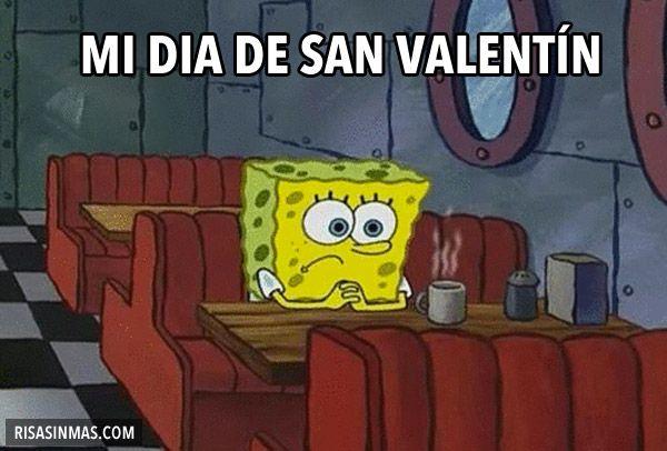 Mi Dia De San Valentin Spongebob Memes Funny Pictures Spongebob