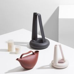 Acquedotto pourers by Formafantasma are based on ancient Roman vessels
