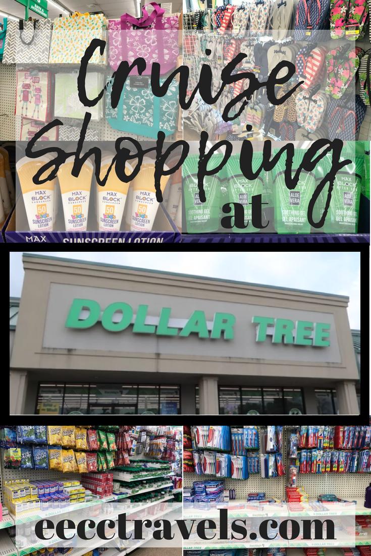 Cruise Shopping at Dollar Tree