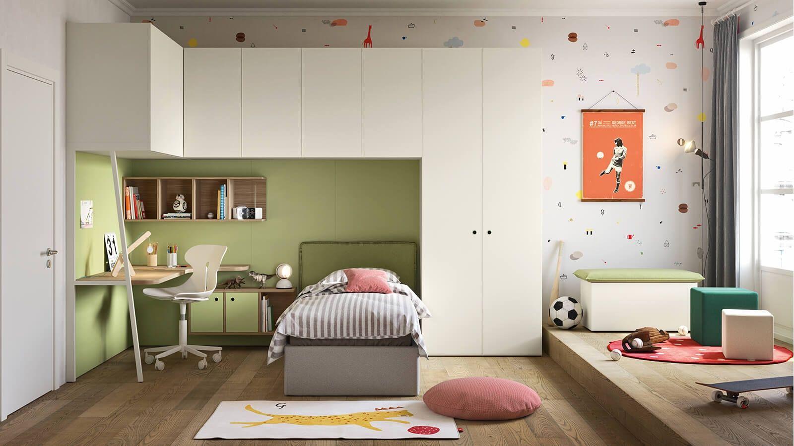 Idee Cameretta Bambini : Idee camerette stanze per bambini suggerimenti arredo