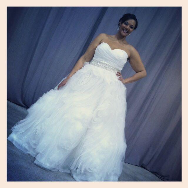 Curvy Bride Plus Size Wedding Dress Rock Your Curves Luxebridal Ruffled