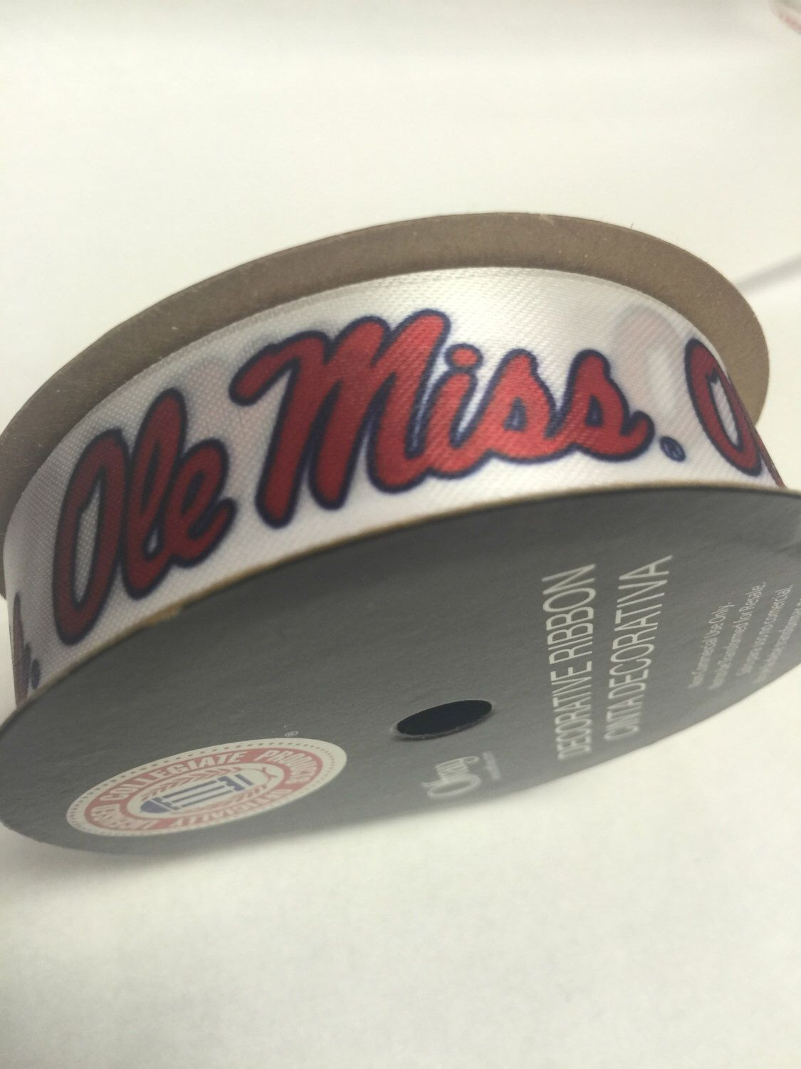 78inch ole miss rebels ribbon ncca ribbon offray college