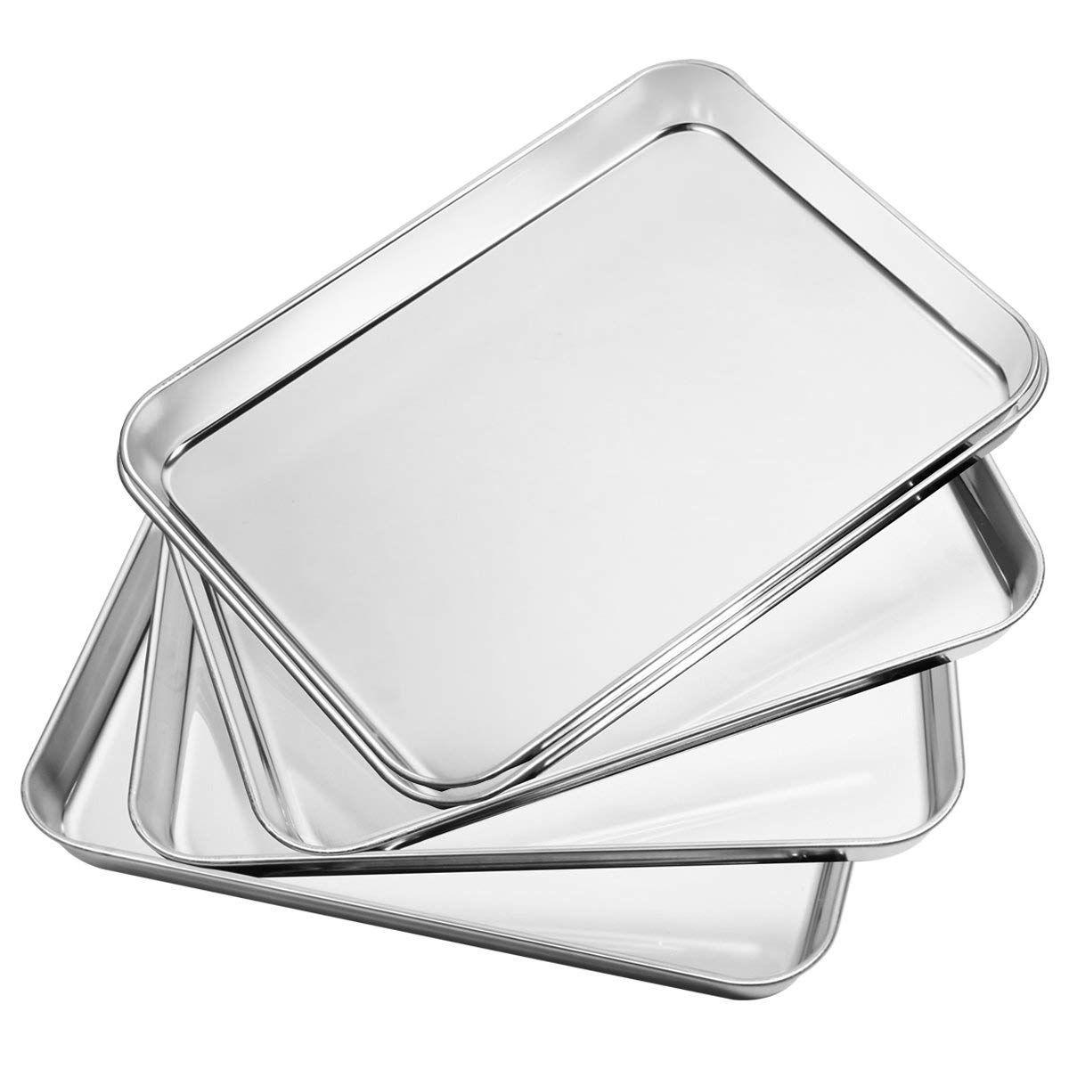 Bastwe baking sheet 5 piece stainless steel baking pan