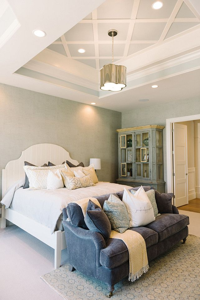 Master Bedroom With Sofa Master Bedroom With Sofa At The End Of