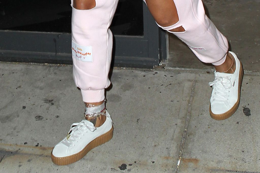 Celebrity Shoe Trend: Puma By Rihanna Creeper Sneakers - Footwear News