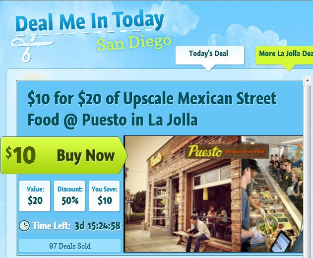 Amazing Authentic Mexican food with a sophisticated twist! www.dealmeintoday.com has 10 for 20 through 12/12