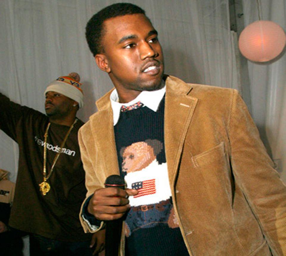 L Ours Ralph Lauren Kanye West Hip Hop Fashion Kanye