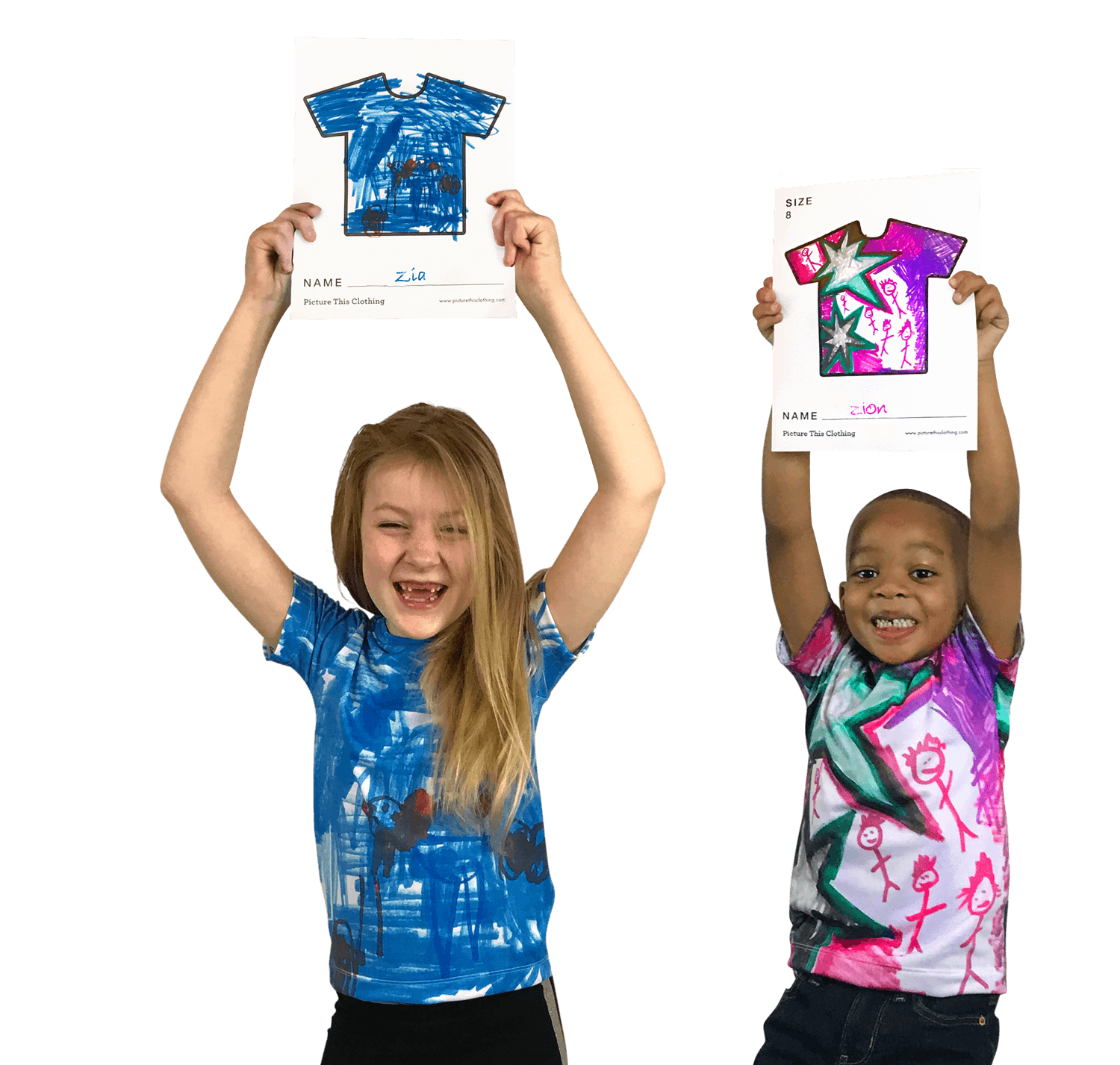 Kids Design Their T Shirts And Hands On Pas
