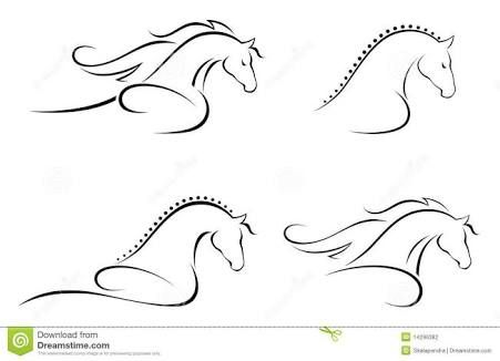 Image Result For Horse Head Outline Images
